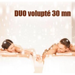 Massage Duo Volupté 30 mn