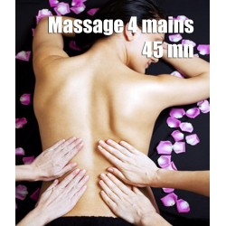 Massage 4 mains - 45 mn