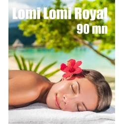 Massage hawaïen LOMI LOMI Royal - 90 mn